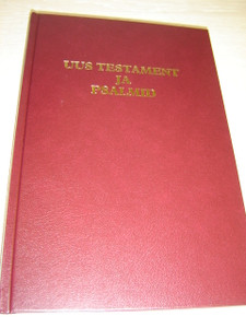 Estonian Large Print New Testament and Psalms / Uus Testament ja Psalmid
