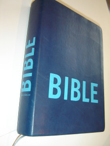 Czech Study Bible Blue Imitation Leather / Cesky Studijni Preklad Bible