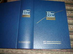 The German Hebrew - Greek Key Study Bible / Elberfelder Studienbibel: Mit Sprachschlüssel und Handkonkordanz / Spiros Zodhiates