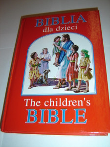 Polish - English Bilingual Children's Bible / Biblia Dla Dzieci / over 170 wonderful pictures
