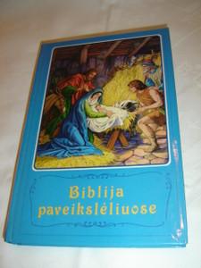 Lithuanian Children's Bible / Biblija Paveiksleliuose / Borislav Arapovic i Vera Mattelmaki