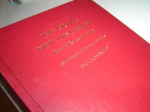 The Greek New Testament / Spanish / Con Introduccion en Castellano DICCIONARIO