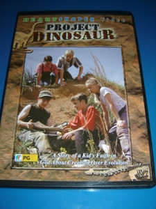 Project Dinosaur (DVD) A Story of a Kid's Faith in God About Creation Over Evolution
