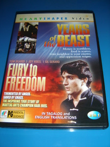 Years of the Beast / Fury to Freedom / 2 Films in 1 DVD
