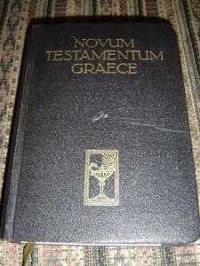 Novum Testamentum Graece - Greek New Testament (Printed in Germany) / 1950 Print