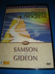 Pilgrim's Progress / Samson and Gideon (2 films in 1 DVD)