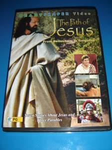 The Path of Jesus - From Bethlehem to Golgotha (DVD) Seven Stories About Jesus and Three Parables