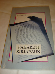 The Screwtape Letters in Estonian Language / Pahareti kirjapaun