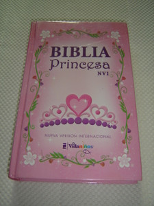 The NIV Princess Bible in Spanish Language - Biblia Princesa NVI Nueva Version Internacional