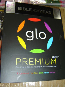 GLO BIBLE PREMIUM / British Text Edition / 3 DVDs in this box with Glo content DVD-ROM Multi-device Edition