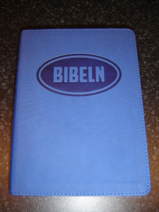 Swedish Bible for Young People / Bibeln from Bibelkommissinens oversattning (Blue Vinyl Bound)