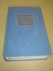 Indonesian TB - English NIV Bilingual Bible Blue Large 065 Size / ALKITAB Holy Bible Terjemahan Baru