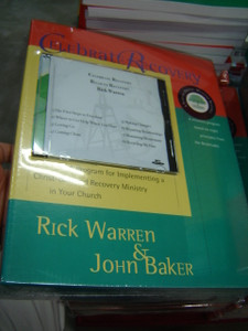 Celebrate Recovery Kit - PDM - Road to Recovery / John Baker / Includes Sermon Transcripts by Rick Warren / Undated Elective Curriculum