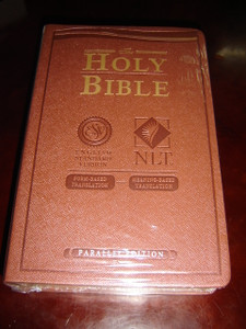 ESV - NLT Holy Bible Parallel Edition / English Standard Version - New Living Translation / Form-Based Translation MEETS Meaning-Based Translation