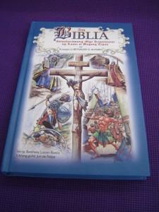 Tagalog Children's Comic Strip Bible / Ang Biblia, Isinalarawang mga Kasaysayan ng Luma at Bagong Tipan