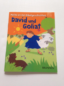 David and Goliath - David und Goliat / Meine ersten Bibelgeschichten / Children's Bible Booklet in German Language