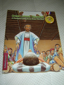 A Paralyzed Man Down From The Roof / Malay - English Bilingual Bible Story Book for Children