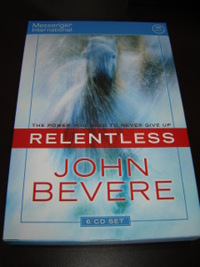 Relentless by John Bevere / Audio Book / 6 CD Set - Complete 12 Sessions