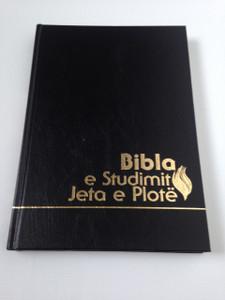 Bibla e Studimit Jeta e Plote : Albanian New Testament Fire Bible (Full Life Study Bible)