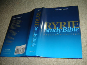 Ryrie Study Bible KJV Hardback- Red Letter Indexed (Ryrie Study Bibles)