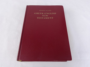 Greek - English Bilingual New Testament / Novum Testamentum Graece