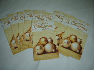 So What is Christmas all About? / Thai Language Evangelistic Booklet Looking At Life / Great for Evangelism