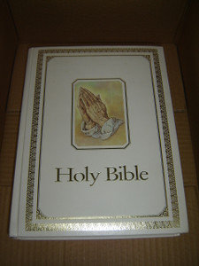 NIV Keepsake Family Bible / Prayer Theme Cover / The Words of Christ in Red / Color Illustrations