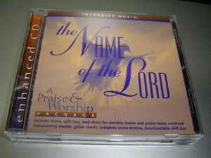 The Name Of The Lord A Praise & Worship Package by Integrity Music Hosanna! Music / CD Split Trax