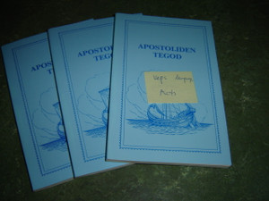 The Book of Acts in the Veps language - Apostoliden Tegod