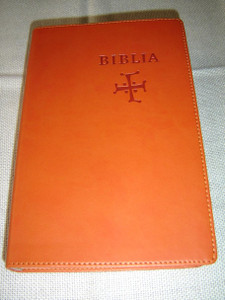 Slovak Bible, Orange Leather – Old & New Testaments