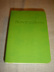 Slovak New Testament, Green Vinyl - Jerusalem Bible, 1st Edition