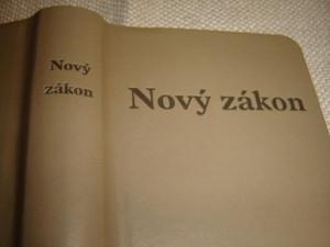 Slovak New Testament, Beige Vinyl - Jerusalem Bible, 1st Edition