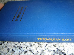 Perjanjian Baru: New Testament in Indonesian Language / Slim Blue Indonesian New Testament