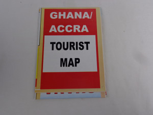 Ghana & Accra Tourist Map / Map of Ghana Scale 1:1 000 000 / 2010 Print