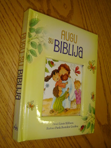 Lithuanian Children's Bible - Augu su Biblija / 2014 Print
