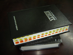 Naimbag A Damag Biblia: Ilokano Popular Version / Black Ilokano Hardcover Bible with Thumb Index / Modern Translation