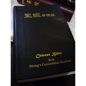 Chinese Bible with Strong's Concordance Numbers / Similar to Hebrew - Greek ...