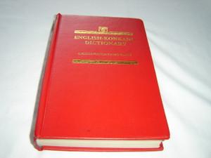 English-Konkani Language Dictionary / Angelus Francis Xavier Maffei / Imprimatur: N. Pagani, S. J. Pro-Vicar Apostolic / 1990 2nd Reprint
