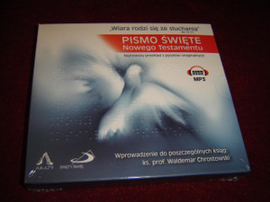 Pismo Swiete: Nowego Testamentu / Sacred Scriptures: New Testament / Polish Language Audio Bible MP3