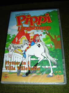 Pippi Långstrump: Flyttar In I Villa Villekulla / Adventures Of Pippi Longstocking