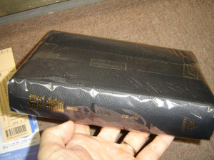 Japanese Bible: New Japanese Translation – Black Leather, Gold Edges, Protective Case, 2004 Print