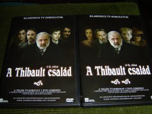 A Thibault Csalad – Klasszikus TV-Sorozatok, Vol. 1-4 Complete Set 2 DVD / Les Thibault, Hungarian Edition [DVD Region 2 PAL]