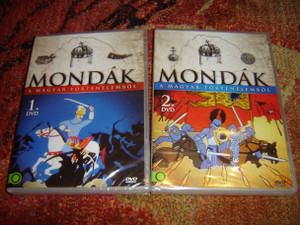 Mondak A Magyar Tortenelembol, Vol. 1 & 2, 13 Episodes Total [DVD Region 2 PAL]