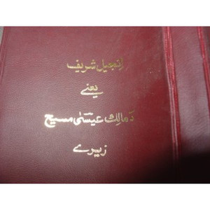 Pashto New Testament [Paperback] by Pakistani Bible Society