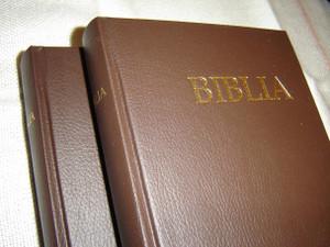 Slovak Bible, Brown Hardcover – Old and New Testaments / Biblia, Hnedy Viazaná Kniha – Pismo Svate Starej a Novej Zmluvy