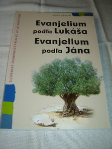 Slovak Language Gospel of Luke & John, Large Text – Great for Elderly Readers