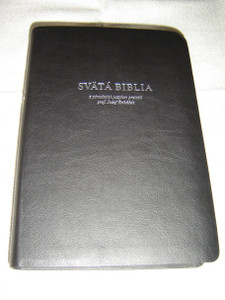 Slovak Holy Bible, Black Vinyl – Translated from Original Language by Prof. Jozef Rohacek / Svata Biblia, Cierny Kryt: Z Povodnych Jazykov Prelozil Prof. Josef Rohacek