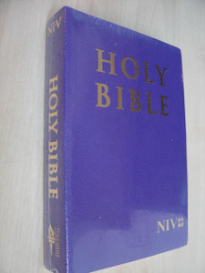 Violet Purple Paperback NIV Holy Bible – The Drama of the Bible