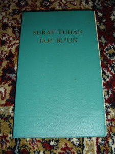 Penan Language The Book of The Lord: The First Promise (Short Old Testament) / Surat Tuhan Jaji' Bu'un / 1974 Print