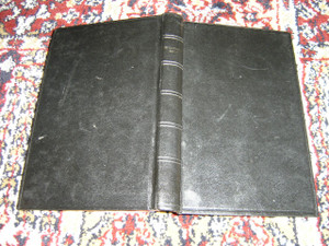 Iban Language New Testament 263, Black Hardcover with Red Edges 1973 Edition / Penyanggup Baru